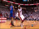 Tyson Chandler Flagrant Foul On LeBron James