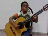 Talented Kid Plays Titanic On The Guitar