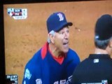 Umpire Spits Gum At Boston Red Sox Manager Bobby Valentine
