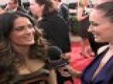 2012 Golden Globes Red Carpet: Salma Hayek&#8217 S Fabulous Fashion Sense