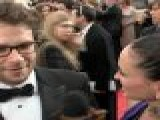 2012 Golden Globes Red Carpet: Seth Rogen - &#8216 Knocked Up&#8217 Sequel Is &#8216 Really Funny&#8217