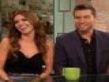 Access Hollywood Live: Lance Bass & Audrina Patridge On Co-Hosting AMAs & &#8216 Dancing&#8217 Memories