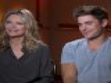 Zac Efron & Michelle Pfeiffer Talk &#8216 New Year&#8217 S Eve&#8217 Kiss: Was It Awkward?