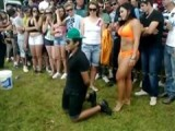 This Dude Wins A Lap Dance Which Causes Him To Forget About His Girlfriend Till She Shows Up And Spoils All