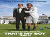 Watch The That's My Boy Trailer. Faced With A Bill For Back-taxes, A Foul-mouthed Hedonistic Playboy Arrives On His Straight-laced Son's