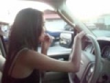 Driving Wit Ma Homegurl Lil Nena And In LV