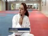 I-RACE Claudia Gerini E Il Taekwondo