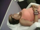 KASSY GETTING HER PIERCING.!!! :O
