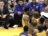 Kobe Bryant And Chris Childs Fight