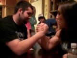 Me N Zack Arm Wrestling
