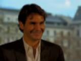 2009: Roger Federer Gets The Giggles