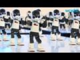 100 Humanoid Robots Perform Synchronized Dance Routine In Tokyo