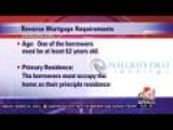 3 Requirements For Reverse Mortgages