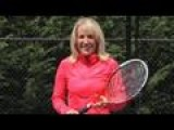 Tennis Tips: How To Hit The Overhead Shot With Tracy Austin