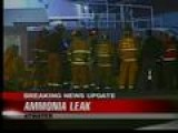 Ammonia Leak Forces Evacuations