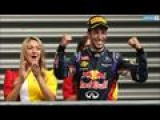 Australian Ricciardo Red Bull Wins Belgian GP