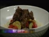 Amarillo Supper Club: Beef Stir Fry & Rice