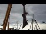 Australian Fishermen Catch Rare Basking Shark