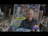 Bob Is On The Job With NASCAR Artist Sam Bass