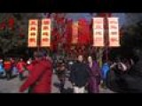 Chinese Celebrate Start Of Lunar New Year
