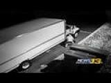 Crooks Caught On Camera Stealing Man's Life Belongings
