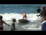 Canines Vie For 'Surf Dog' Title In California