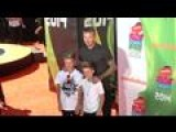 David Beckham And His Sons Steal The Show At The Nickelodeon Kids' Choice Awards