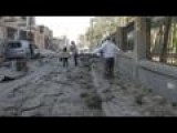 Dramatic Footage Shows The Aftermath Of Barrel Bombs In Aleppo