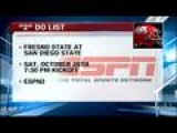 ESPN2 Picks Up Fresno State-San Diego State
