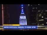 Empire State Building Farewell To Derek Jeter
