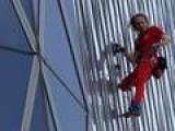French Spider-Man Scales Jakarta Skyscraper