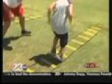 Former NFL Players Host Youth Football Camp In Bakersfield