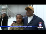 Families Gather For Soldiers Deployment Ceremony