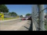 Grand Prix Crash In Houston