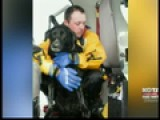 Gillette Firefighter Saves Dog From Frozen Pond
