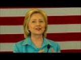 Hillary Clinton Talks Climate Change In Des Moines