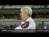 Hokies Pay Tribute To Frank Beamer On The Field