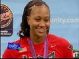 INSTY - Tamika Shows Her Olympic Bling
