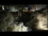 Implosion Of Hotel And Casino In Las Vegas