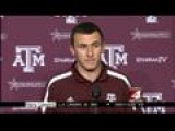 Johnny Football Talks