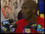 Kobe Bryant Kicks Off Camp At UCSB Talks About Dwight Howar