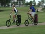 Local Company Makes Golf Bicycle