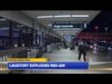 Lavatory Explodes Mid-air