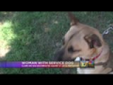Local Service Dog Owner Said She Was Discriminated Against