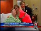 Mother In Hospital Gets To See Daughter Off To Prom
