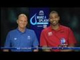 Make A Splash With Olympians Rowdy Gaines And Cullen Jones