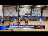 McClanahan Scores 1,000th Career Point
