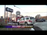 Medical Emergency Leaves Car On Train Tracks