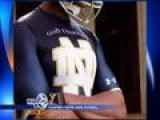 Notre Dame Releases Images Of New Under Armour Unis