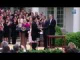 Obama Salutes Charbonneau As National Teacher Of The Year